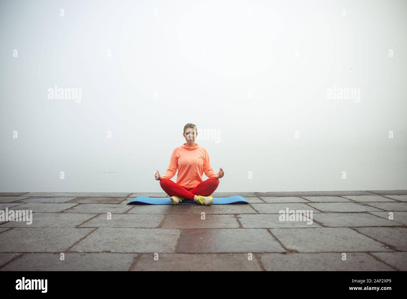 Yoga Banner Template High Resolution Stock Photography And Images Alamy