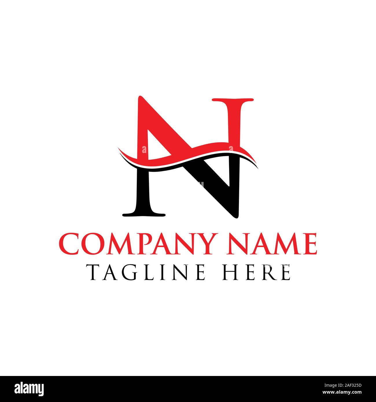 N Logo Cut Out Stock Images Pictures Alamy