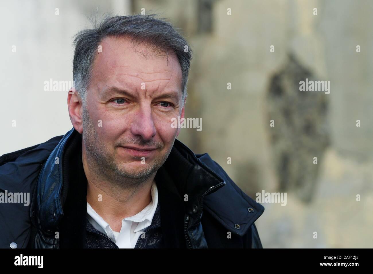 Bruno Bernard, EELV candidate to the presidence of Lyon Metrople, Lyon, France Stock Photo