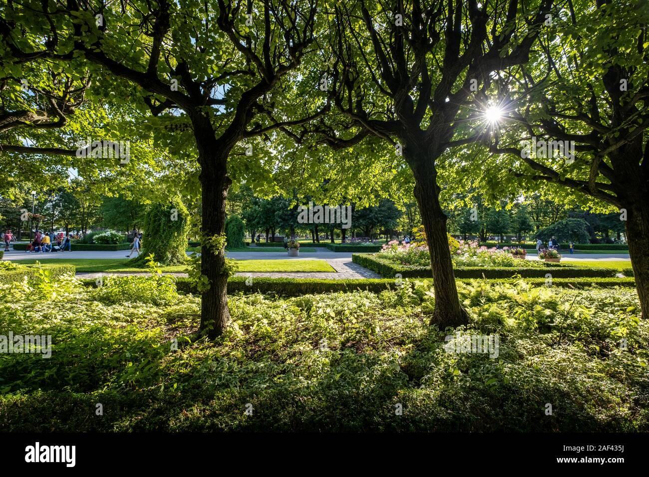 Toronto Islands Park Stock Photo