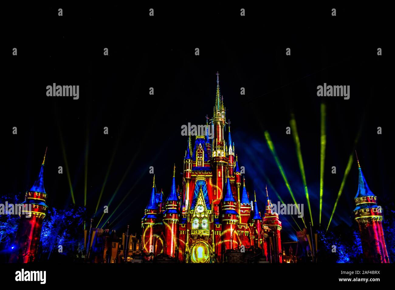 Cinderella Castle High Resolution Stock Photography And Images Alamy