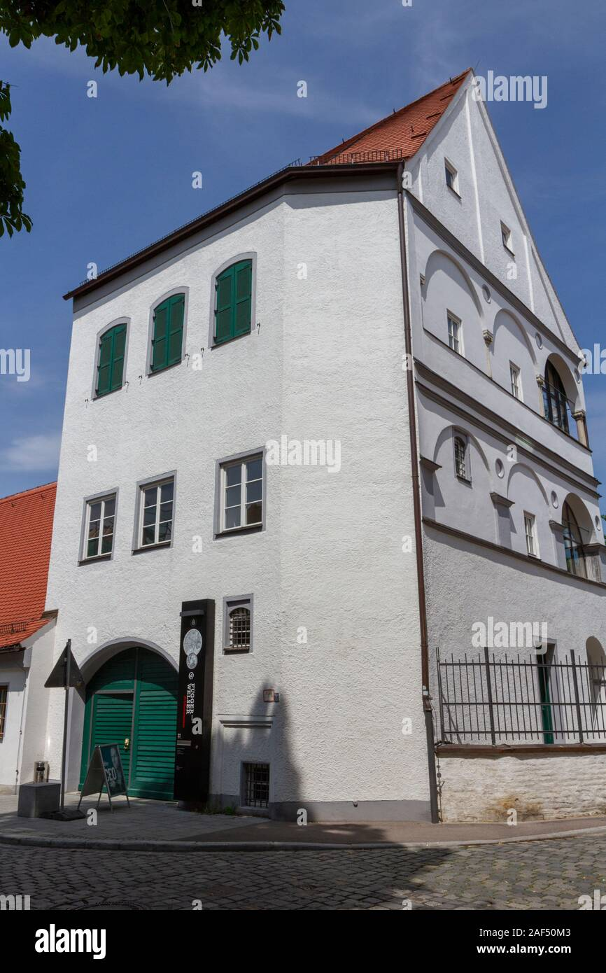 The Fugger and Welser Museum Augsburg, Bavaria, Germany. Stock Photo