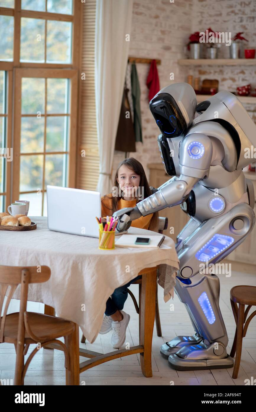 Future Home Kitchen Robot High Resolution Stock Photography And Images Alamy