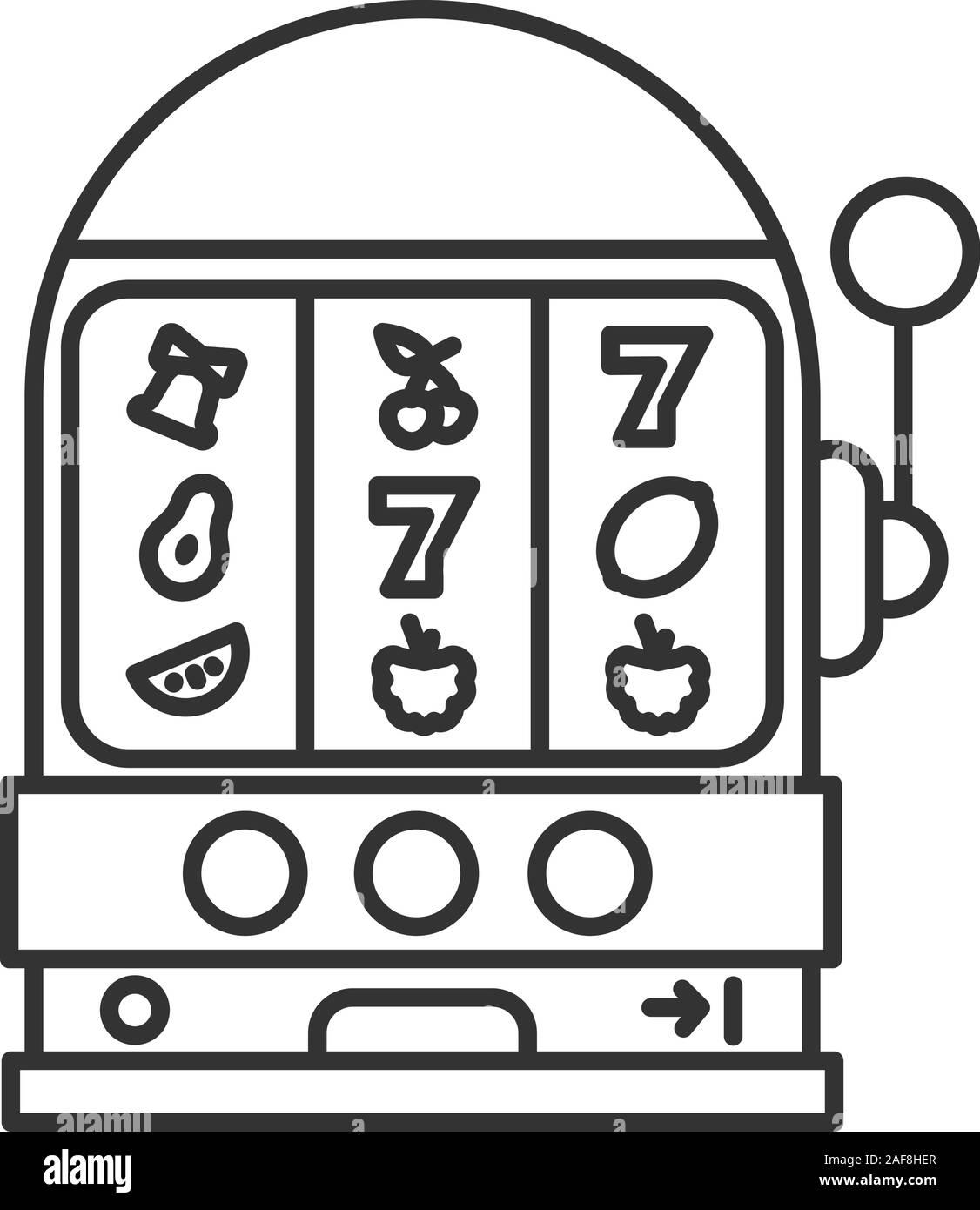 Vegas Slot Machine Drawing
