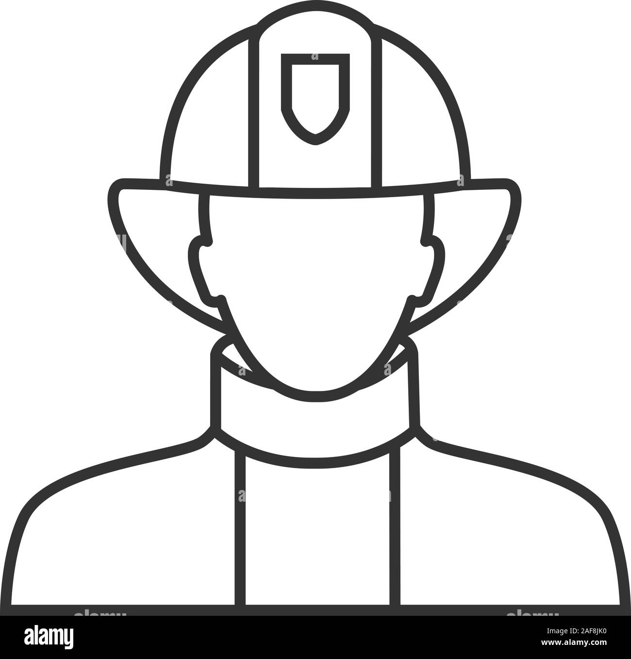 Fireman Drawing High Resolution Stock Photography And Images Alamy