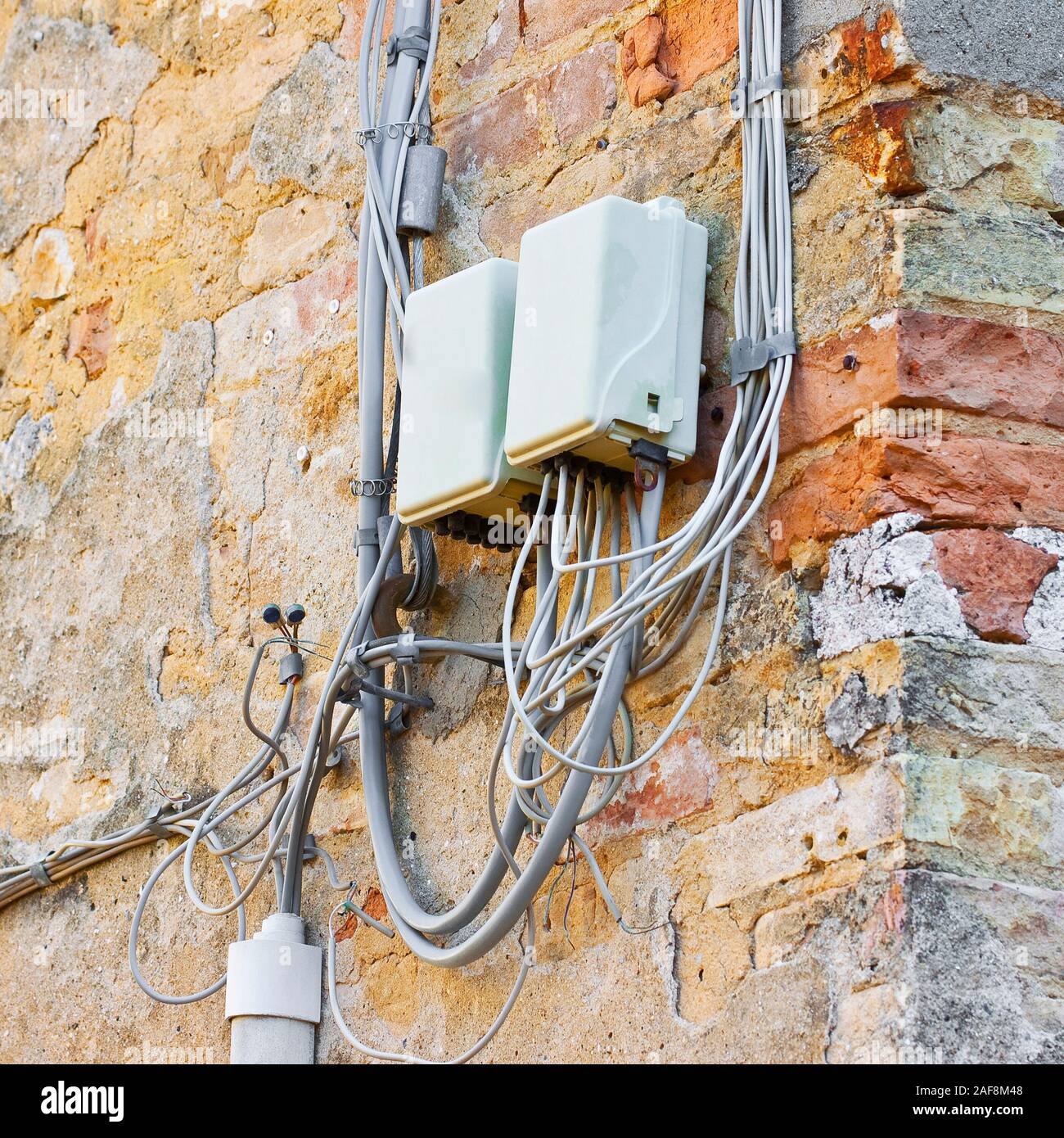 Plastic Junction Box High Resolution Stock Photography And Images Alamy