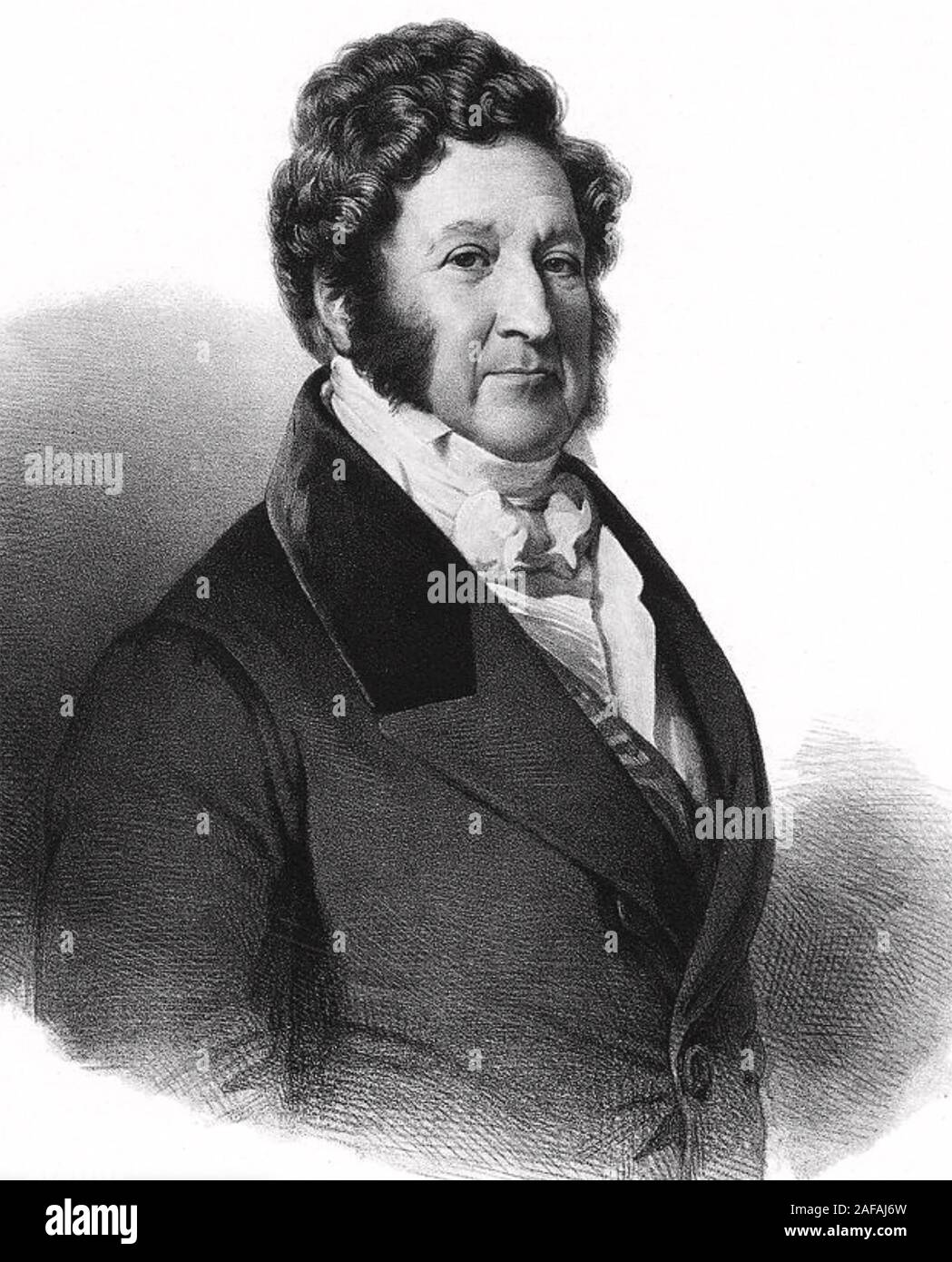 LOUIS PHILIPPE 1 (1773-1850) French King from 1830-1848 Stock Photo