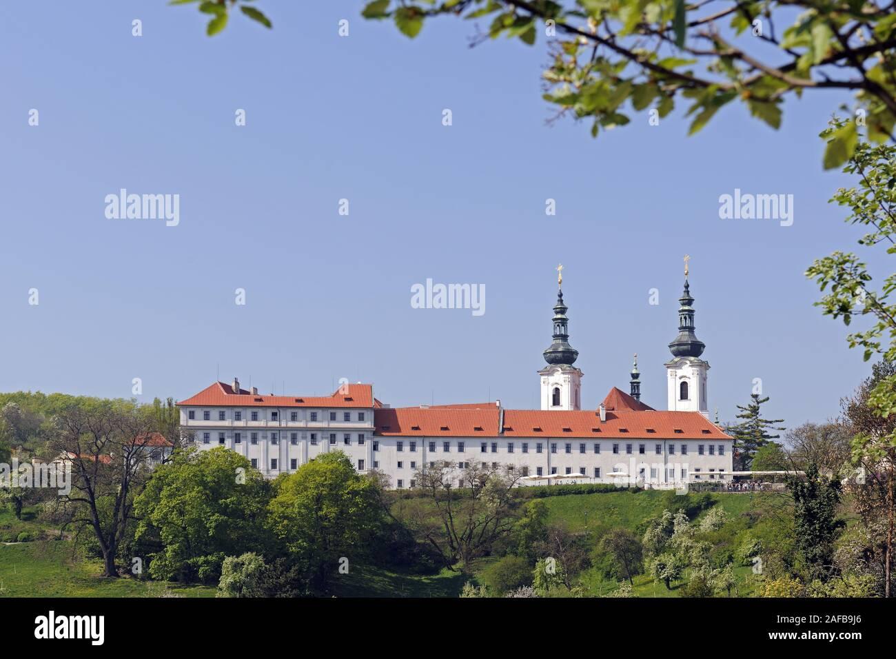 Strahov Kloster, Prag, Boehmen,  Tschechien, Europa Stock Photo