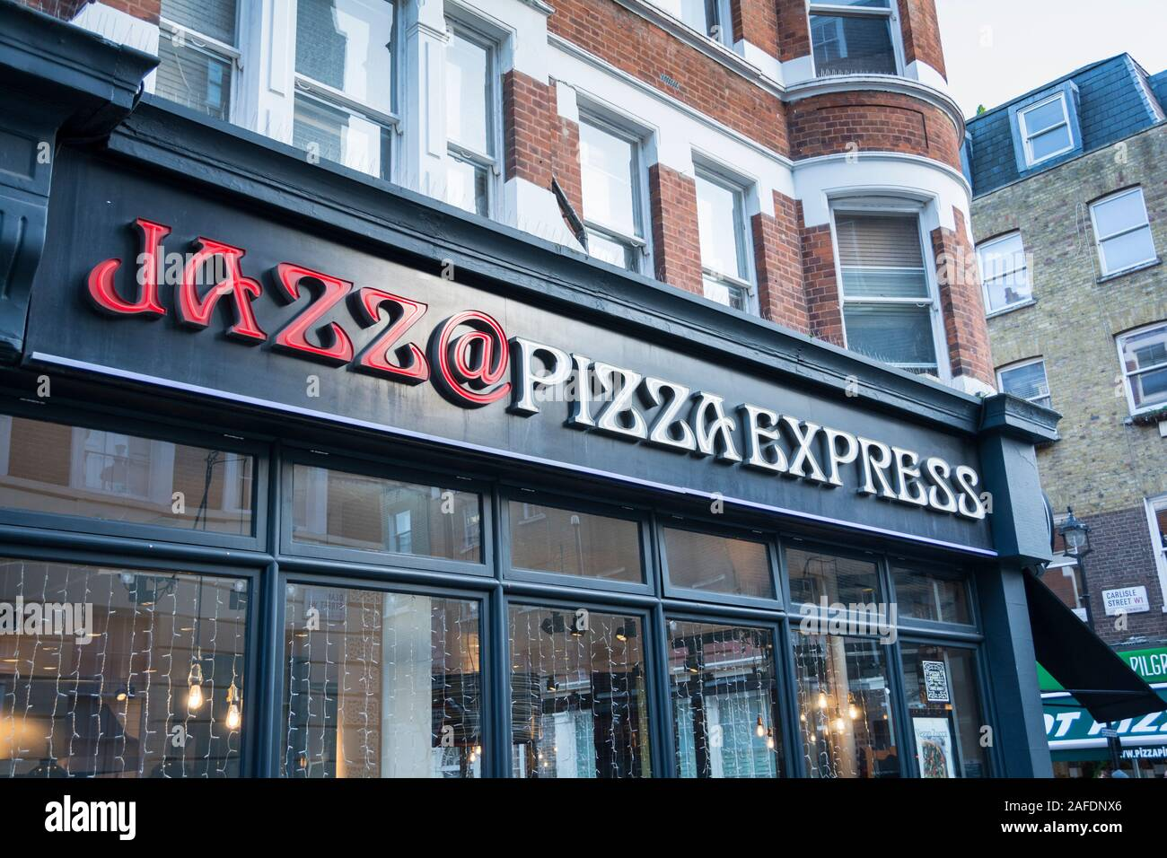 Pizza Express Signage Stock Photos Pizza Express Signage