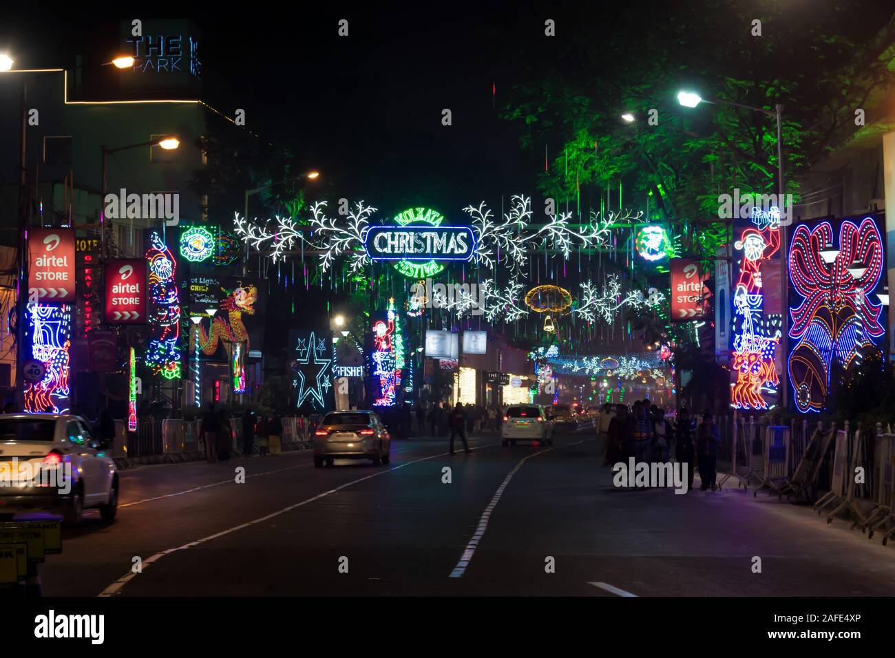 Christmas In The Park 2021 Dates Park Street Kolkata Christmas High Resolution Stock Photography And Images Alamy