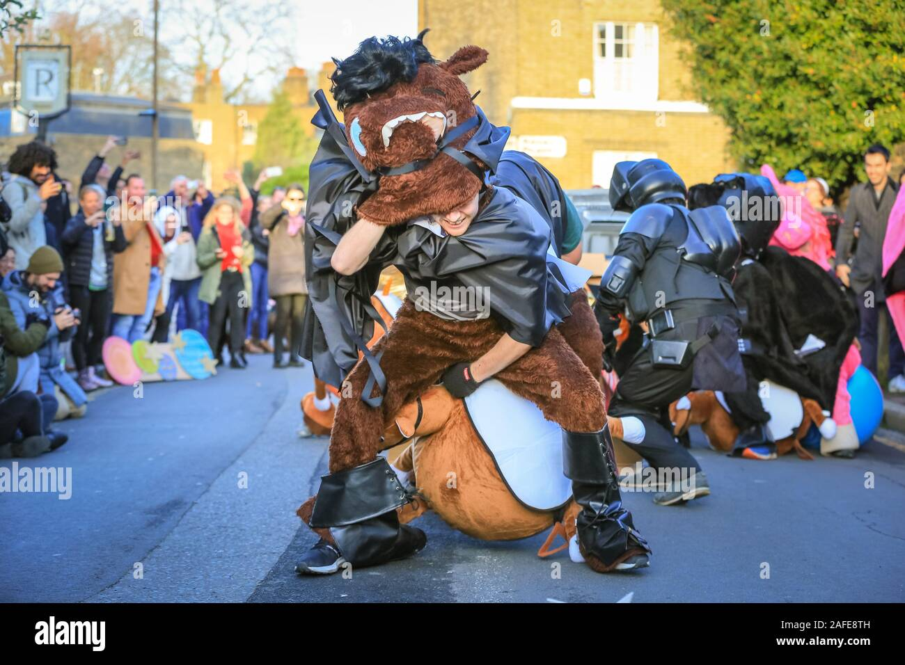 Star Wars Pantomime Horse Race High Resolution Stock Photography And Images Alamy