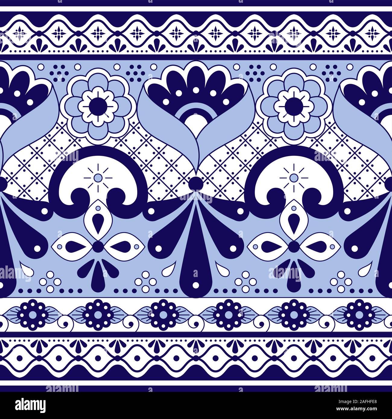 Virgin of Guadalupe Mexico Medium Handpainted Tile Purple