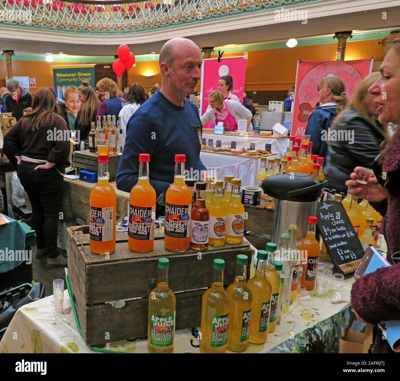 Bridgwater Food & Drink Festival 2019,taste of the west,foods,drink,Town hall Stock Photo