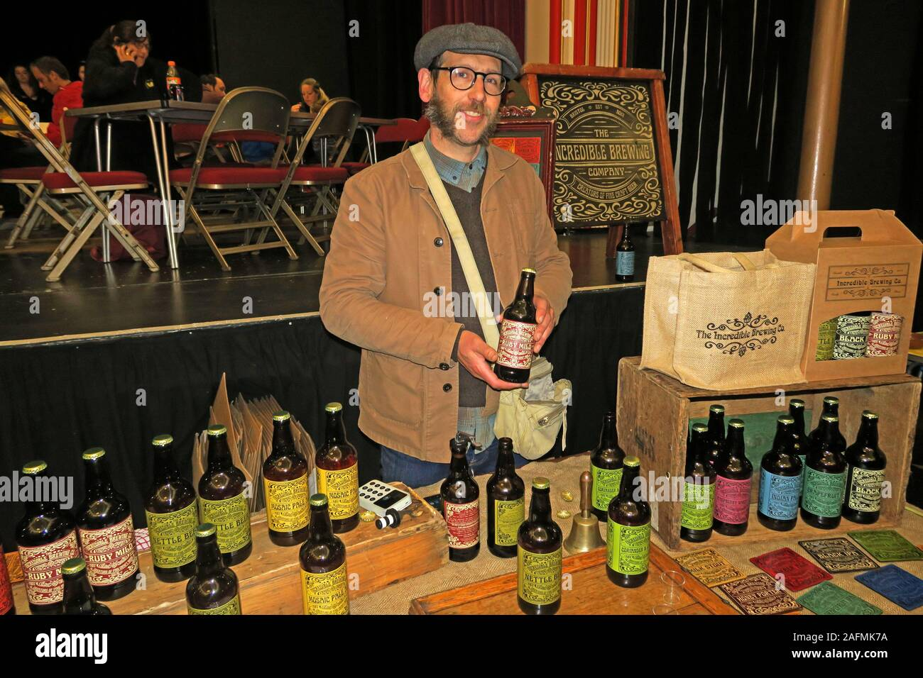 The Incredible Brewing Company,Bridgwater Food & Drink Festival 2019,taste of the west,foods,drink,Town hall Stock Photo