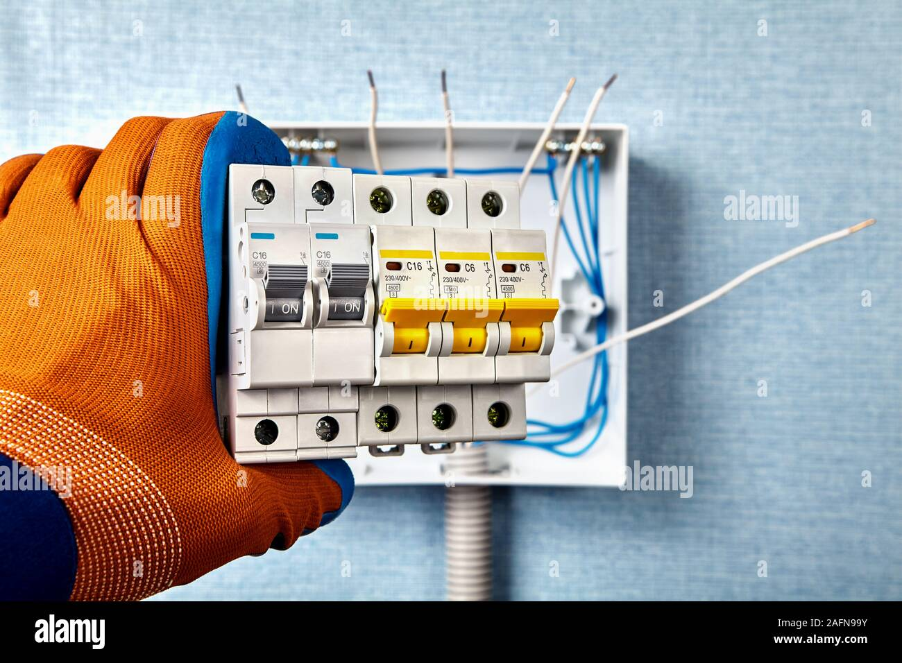 Residential Breaker Box High Resolution Stock Photography And Images Alamy
