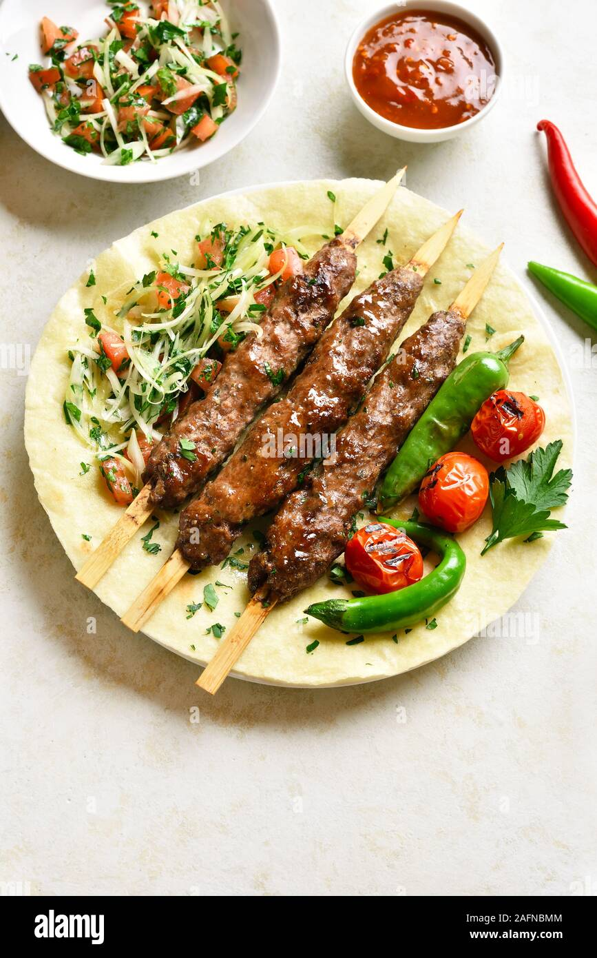 Turkish Kebab High Resolution Stock Photography And Images Alamy