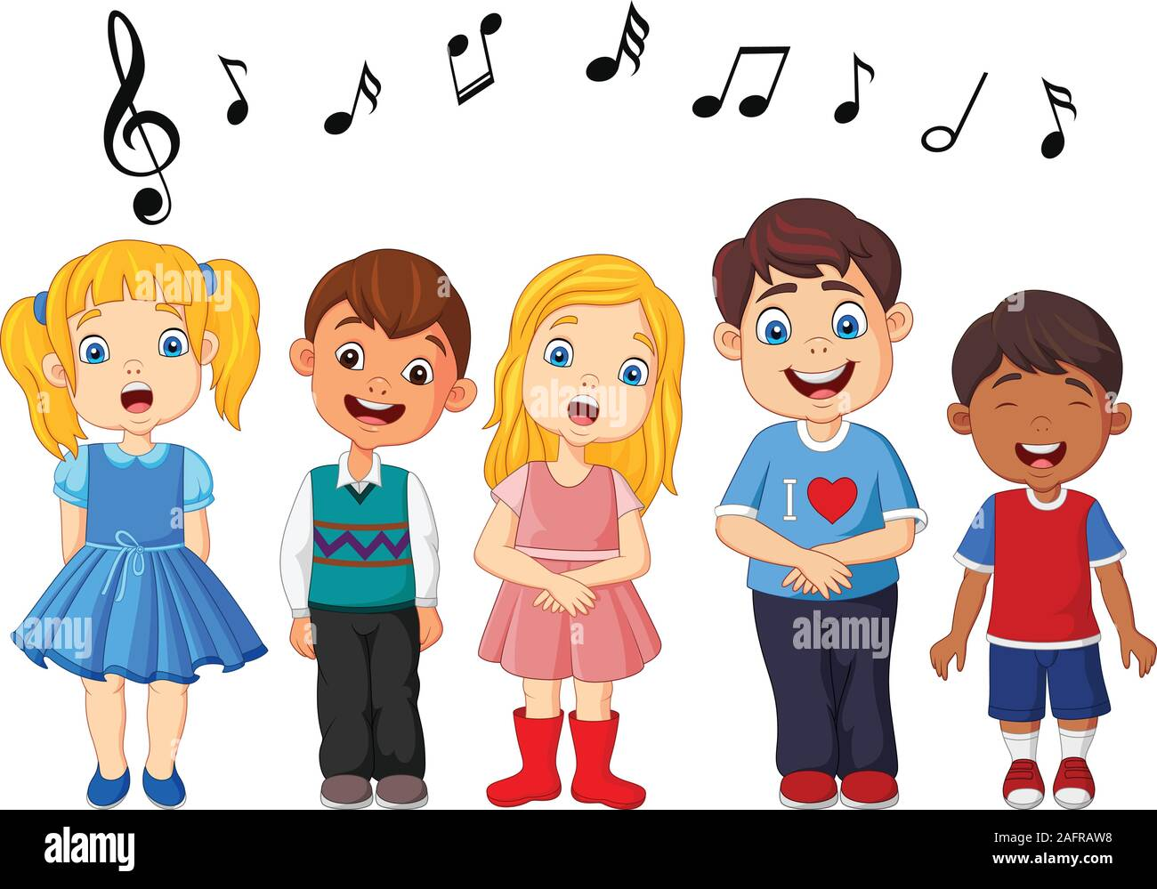Childrens Choir Clipart   Free Images at Clker.com - vector clip art  online, royalty free & public domain