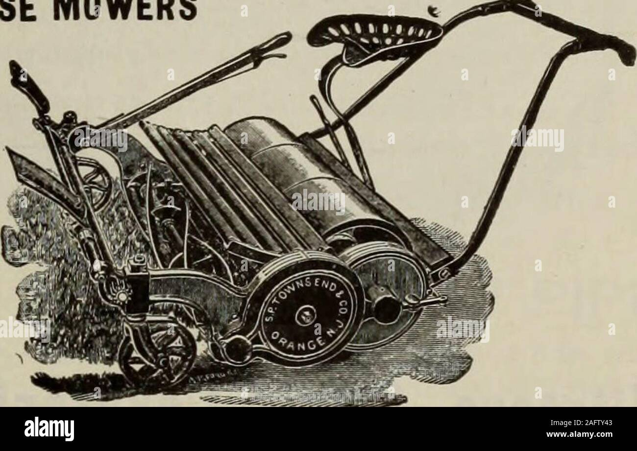 . Hardware merchandising August-October 1912. TOWNSEND MOWERS HAND MOWERS and HORSE MOWERS All Our Hand MowersAre Ball Bearing SENT ON THEIR MERITS Write for Catalog Sc P. Townsend (Si Co. ORANGE. N. J.. You Can Hit the Increased Prosperity Mark By recommending and selling the HAMILTON RIFLE The HAMILTON is beyond all doubt the best rifle for the price on the market. Its finish, construction and design make it a very attractive line to handle i ^ ,, —a line that sells on sight and meets .with complete approval wherever used. The HAMILTON has few working parts—which can be easily kept clean. Yo Stock Photo