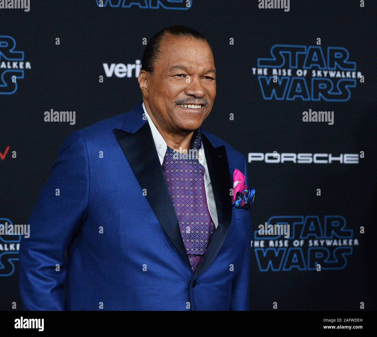 Los Angeles United States 17th Dec 2019 Cast Member Billy Dee Williams Attends The Premiere The Motion Picture Sci Fi Fantasy Star Wars The Rise Of Skywalker At The Tcl Chinese Theatre In