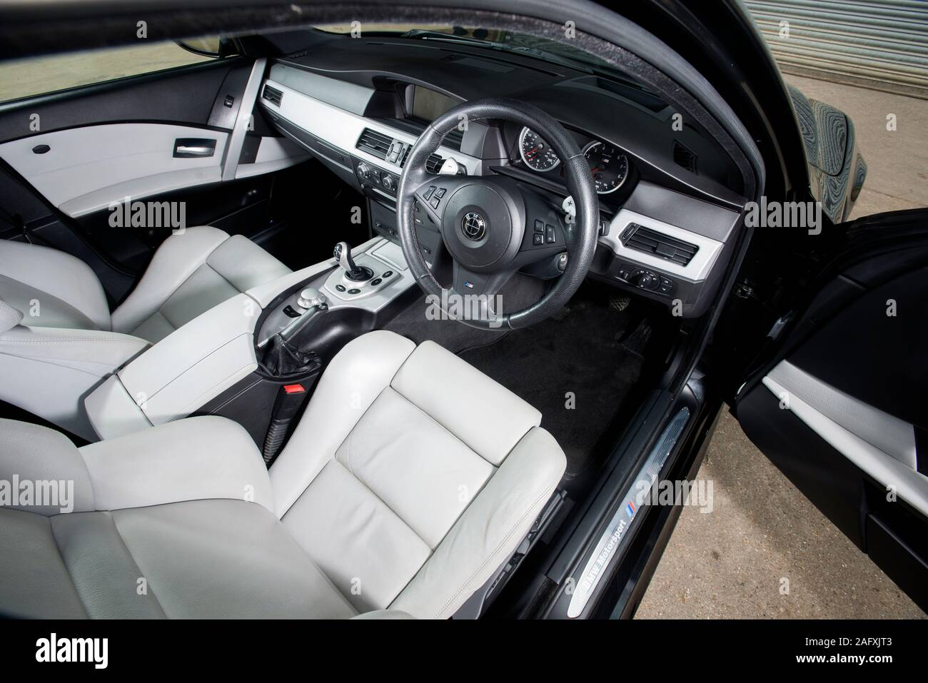 Bmw E60 M5 Super Saloon Stock Photo Alamy