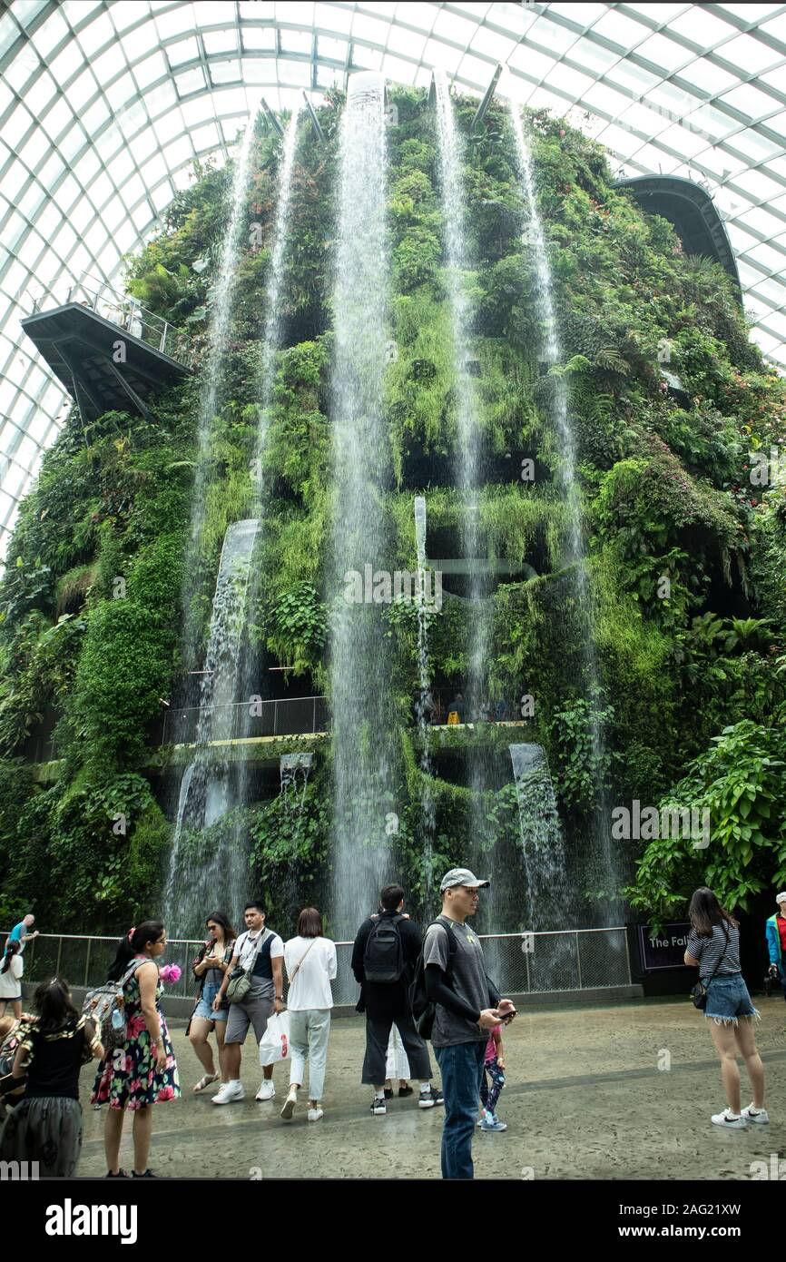 Gardens in the Bay, Singapore Stock Photo