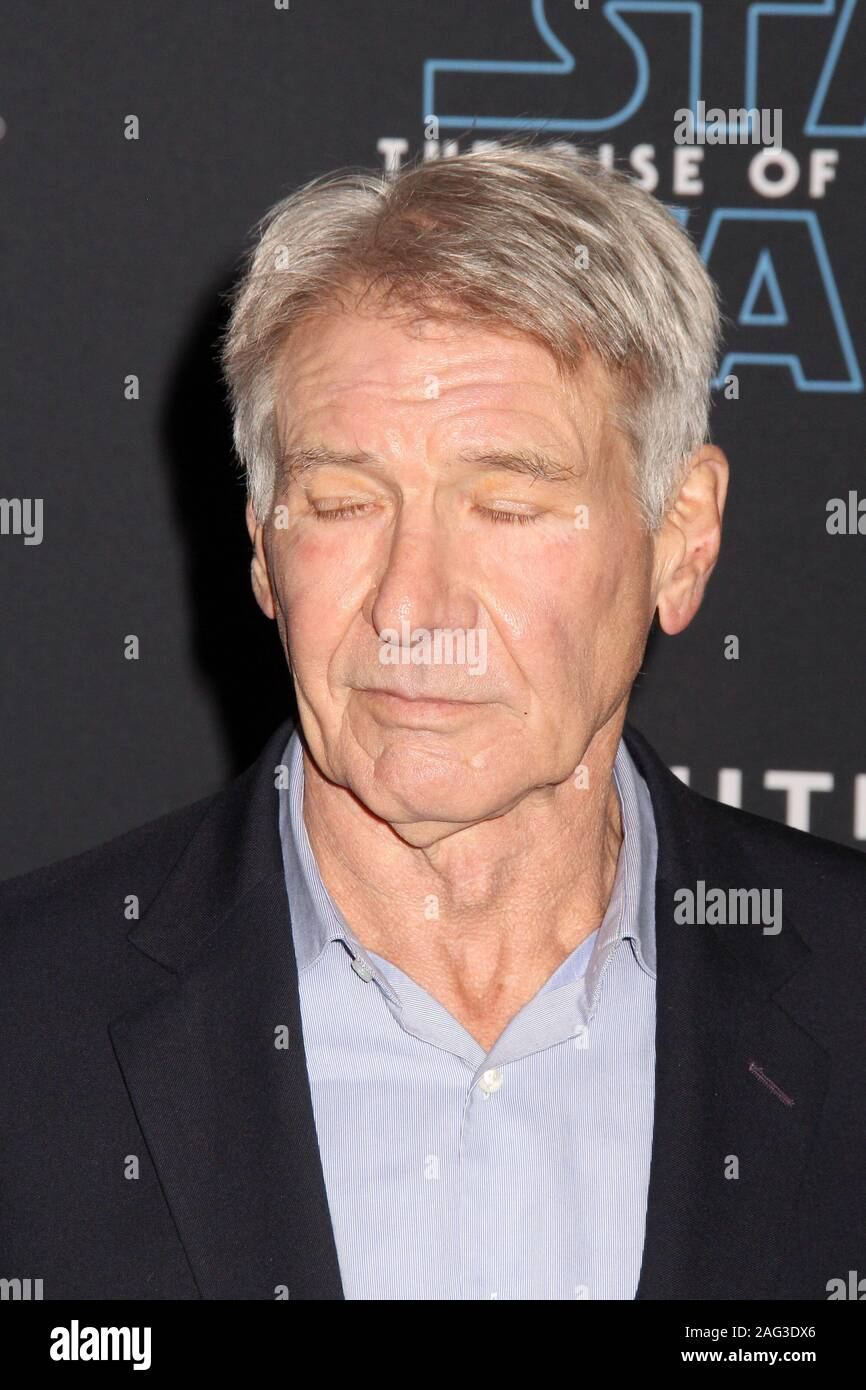 Harrison Ford 12 16 2019 Star Wars The Rise Of Skywalker Premiere Held At The Dolby Theatre In Hollywood Ca Photo Cronos Hollywood News Stock Photo Alamy