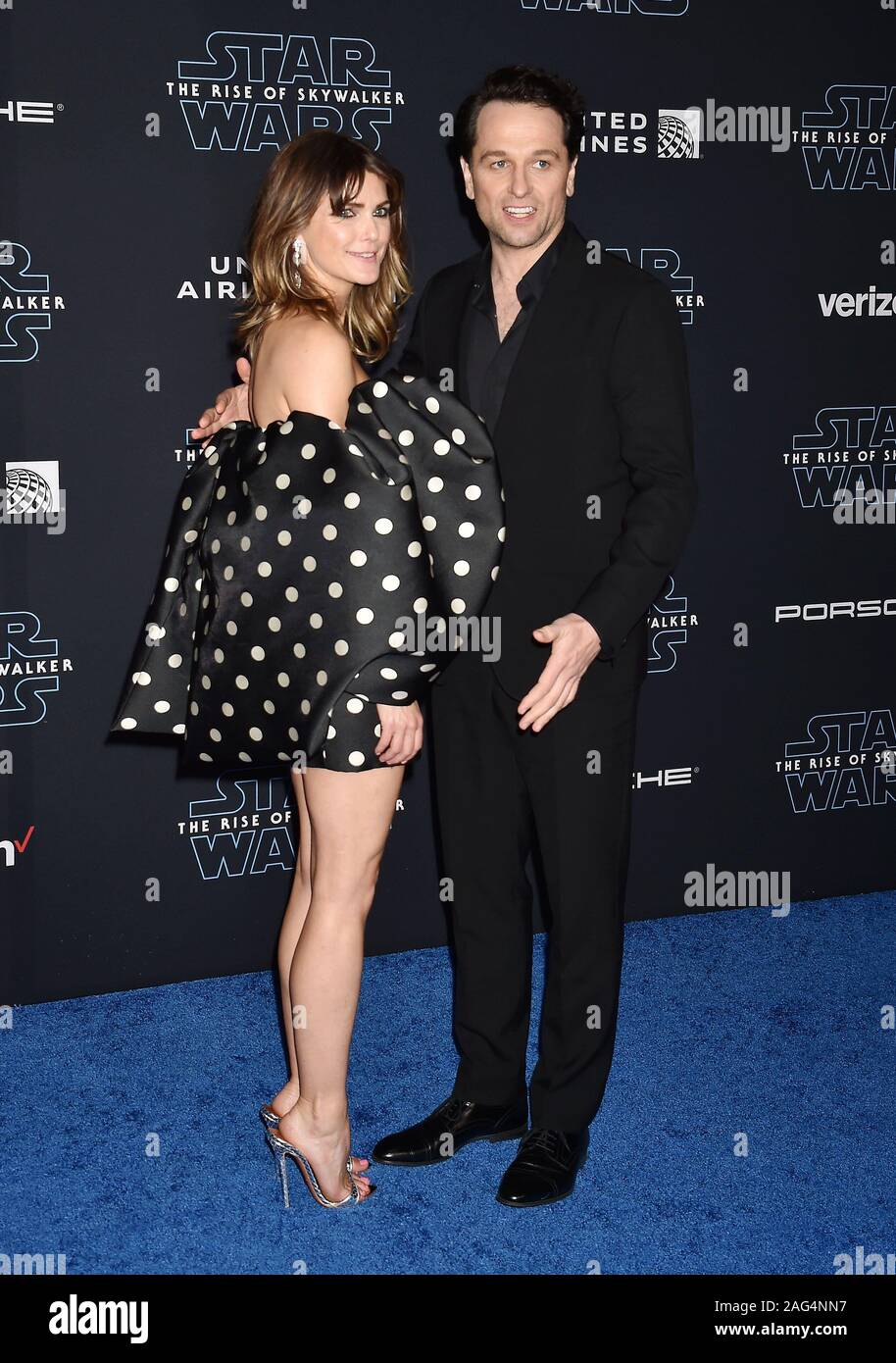 Hollywood Ca December 16 Keri Russell L And Matthew Rhys Attend The Premiere Of Disney S Star