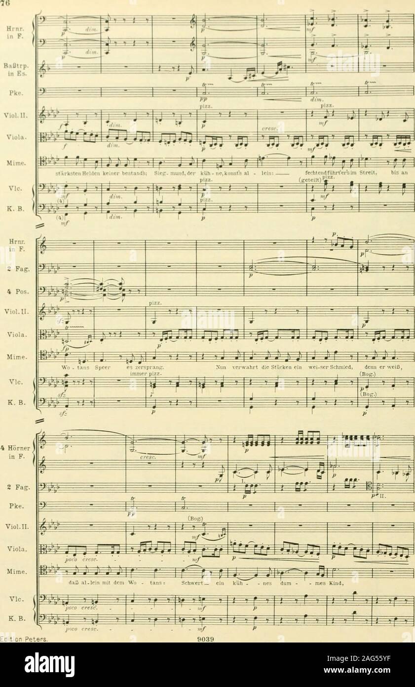 . Instrumentationslehre, von Hector Berlioz. Ergänzt und rev. von Richard Strauss. Stock Photo