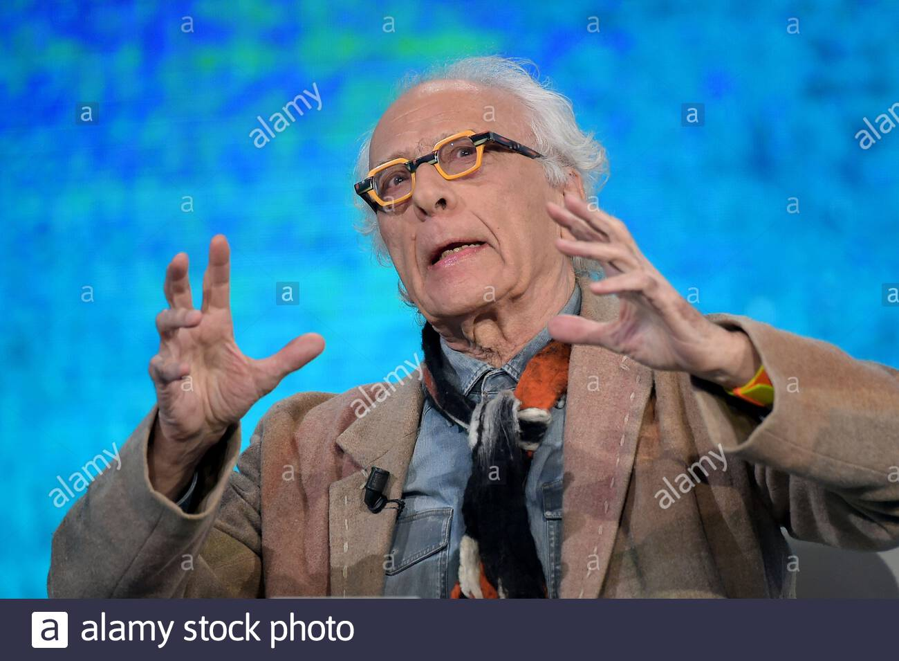 Giampiero Mughini milano, 16-06-2019 Stock Photo - Alamy