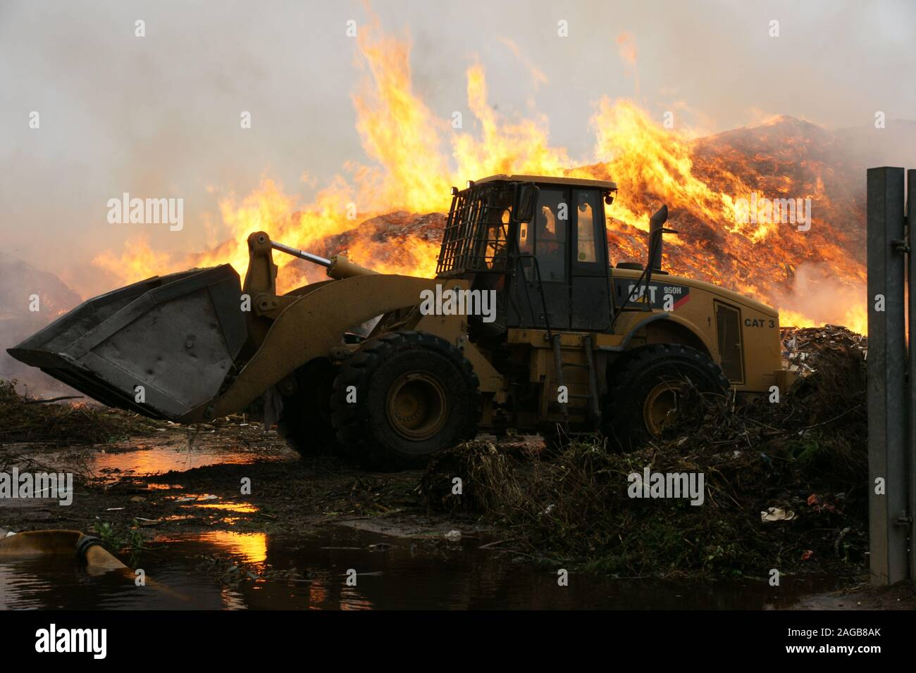 New South Wales bushfires Stock Photo