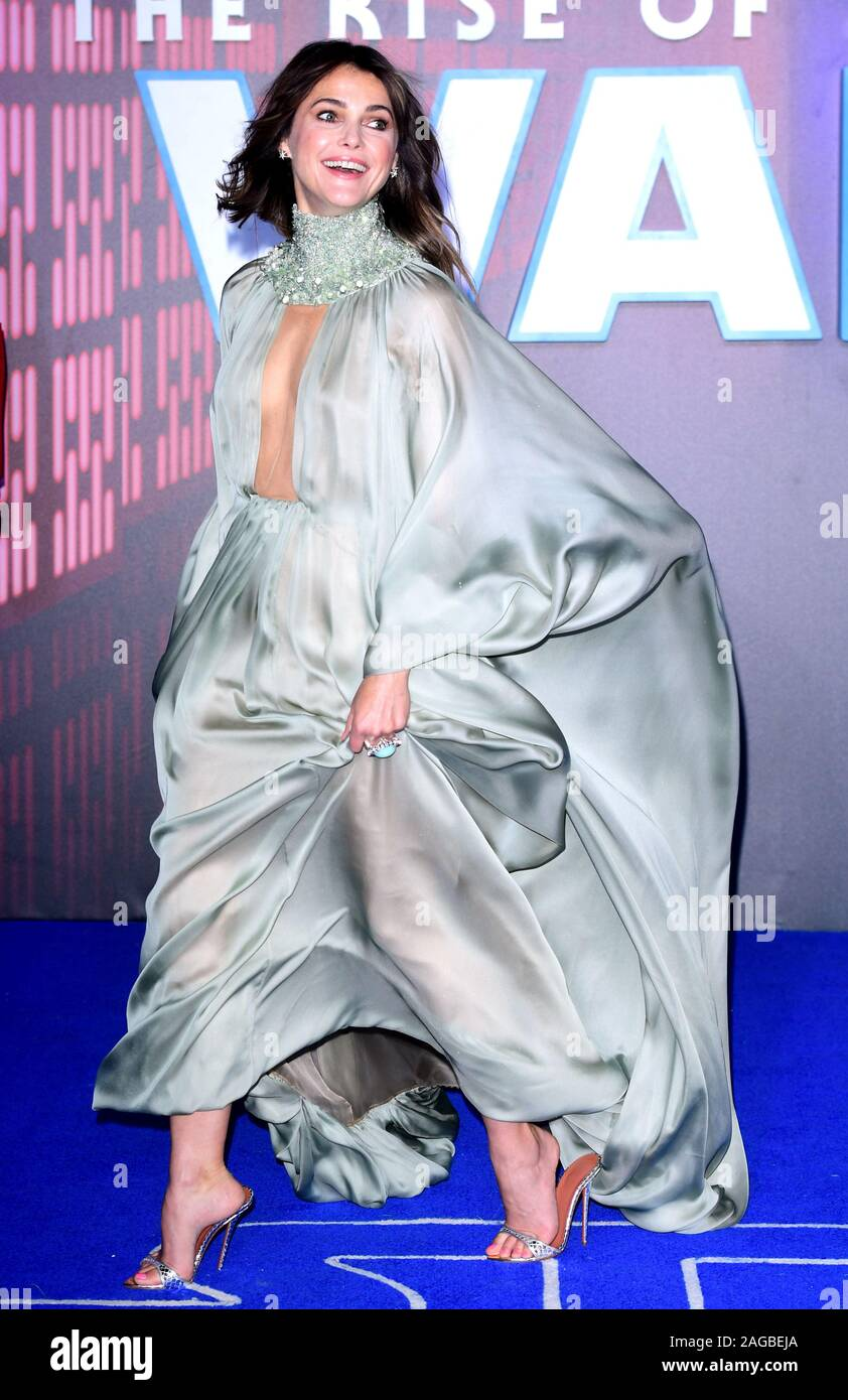 Keri Russell Attending The Star Wars The Rise Of Skywalker Premiere At Cineworld Leicester Square London Stock Photo Alamy