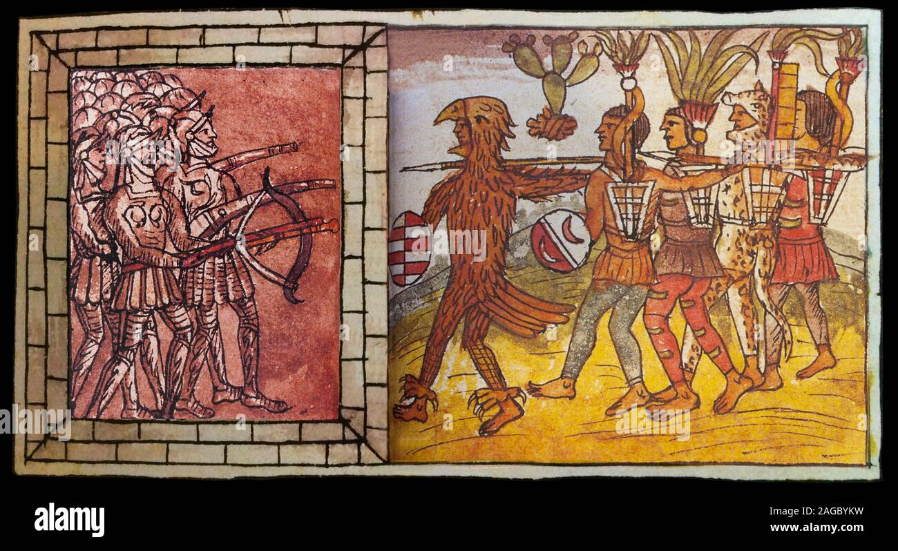 History Of The Aztec High Resolution Stock Photography And Images Alamy
