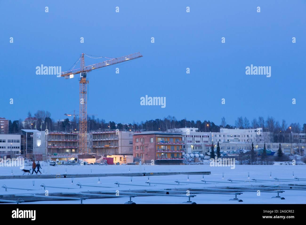 Kuopio in the winter Stock Photo