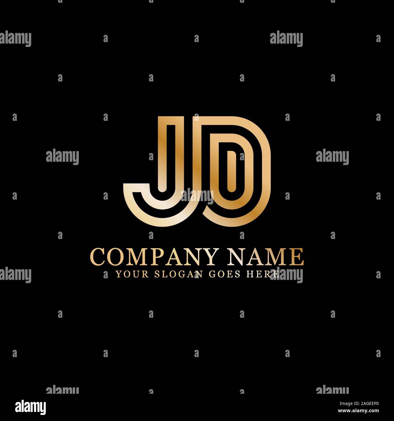 jd logo designs monogram logo vector stock vector image art alamy alamy