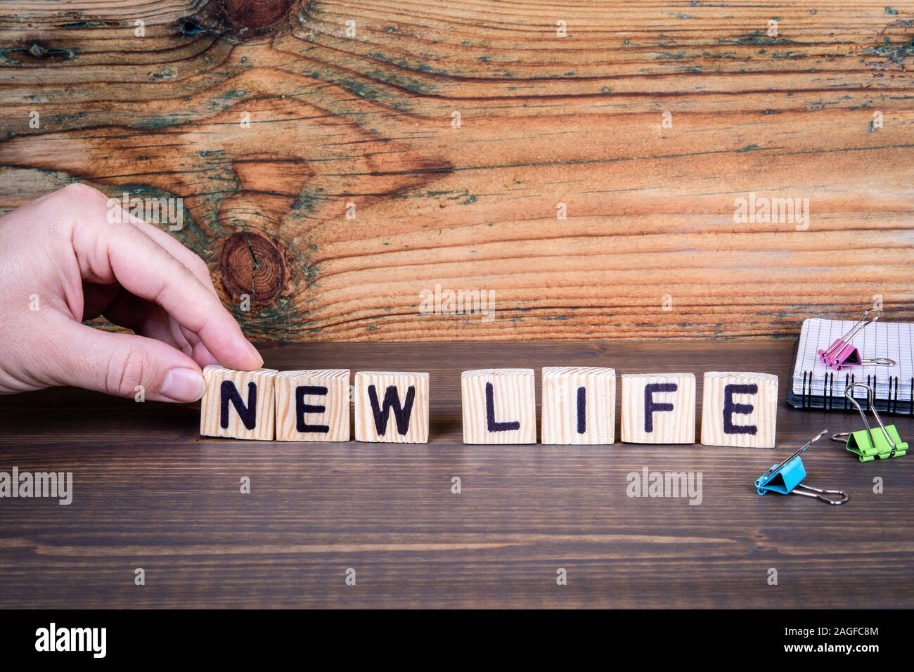 Start New Life High Resolution Stock Photography and Images - Alamy