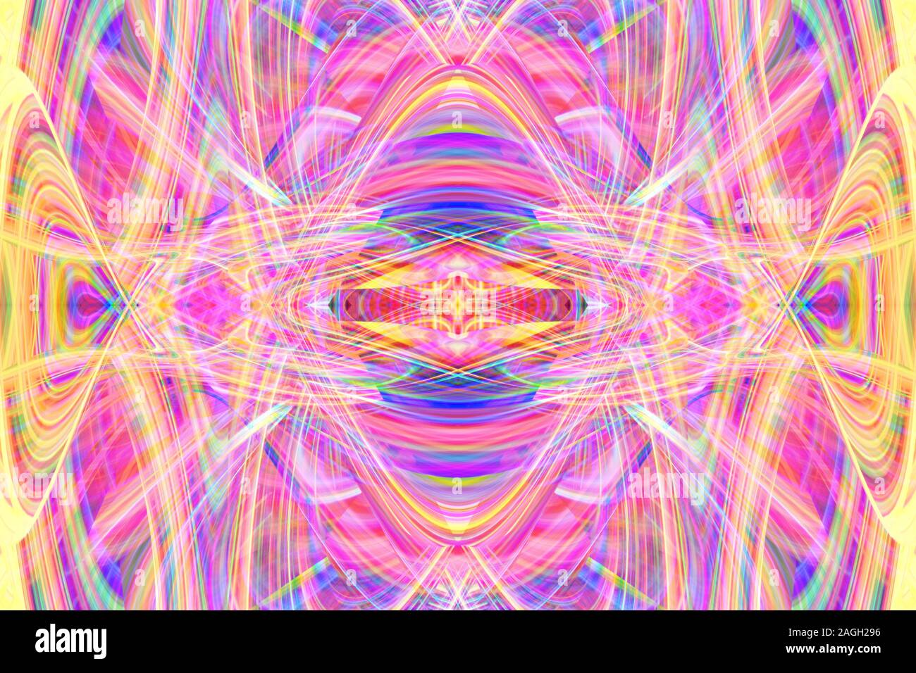 An abstract psychedelic background image. Stock Photo