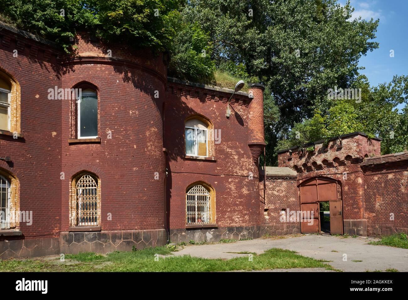 Astronomische Bastion, Teil der der alten Befestigungsanlagen von Königsberg, Kaliningrad, Oblast Kaliningrad, Russland Stock Photo