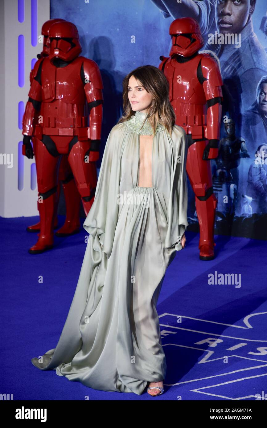 Keri Russell Star Wars The Rise Of Skywalker European Premiere Cineworld Leicester Square London Uk Stock Photo Alamy