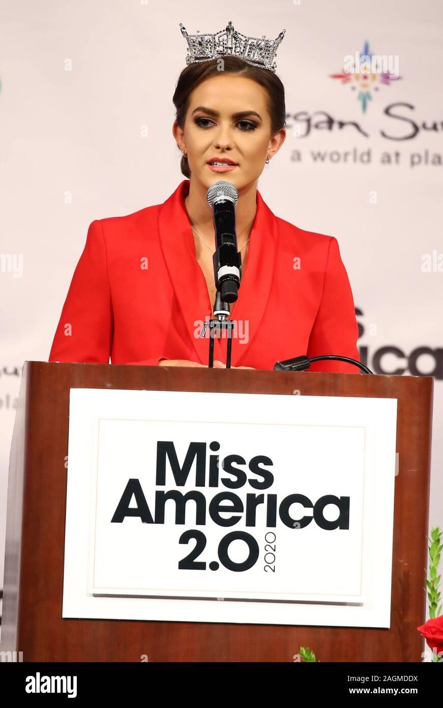 19 December 2019 Uncasville Ct Miss America 2020