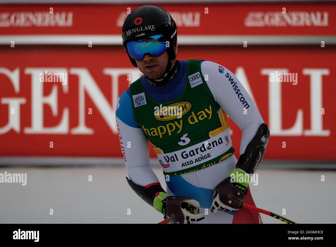 December 20, 2019, Val Gardena, Italy: mauro caviziel (sui)during FIS SKI WORLD CUP 2019 - Super G Men, Ski in Val Gardena, Italy, December 20 2019 - LPS/Roberto Tommasini (Credit Image: © Roberto Tommasini/LPS via ZUMA Wire) Stock Photo