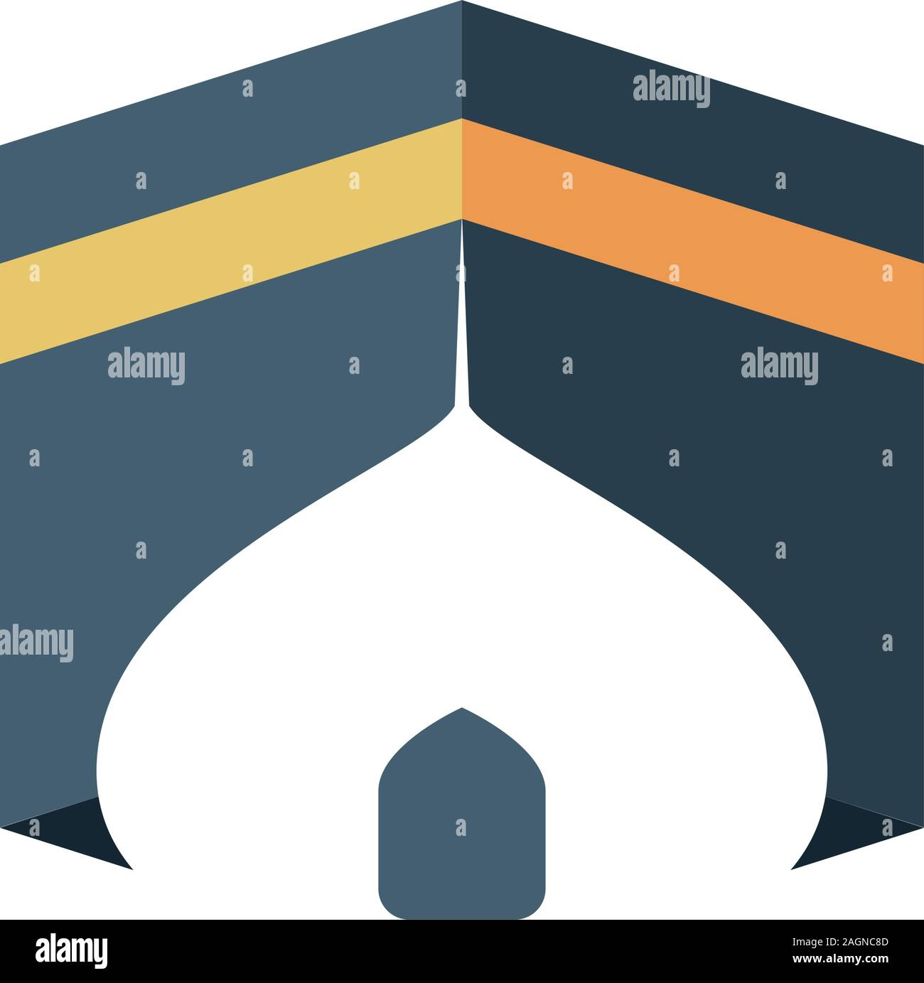 abstract logo of kabah and mosque isolated vector illustration stock vector image art alamy https www alamy com abstract logo of kabah and mosque isolated vector illustration image337302125 html