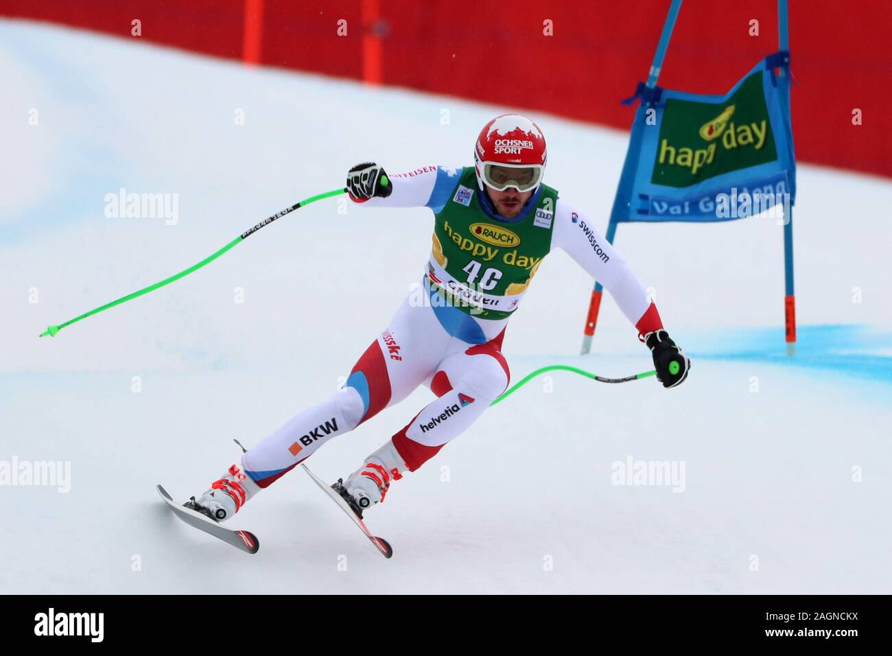 Alpine Ski World Cup FIS in Val Gardena, Italy on December 20, 2019, Super-G Men event, - Editorial Use Credit: Action Plus Sports Images/Alamy Live News Stock Photo