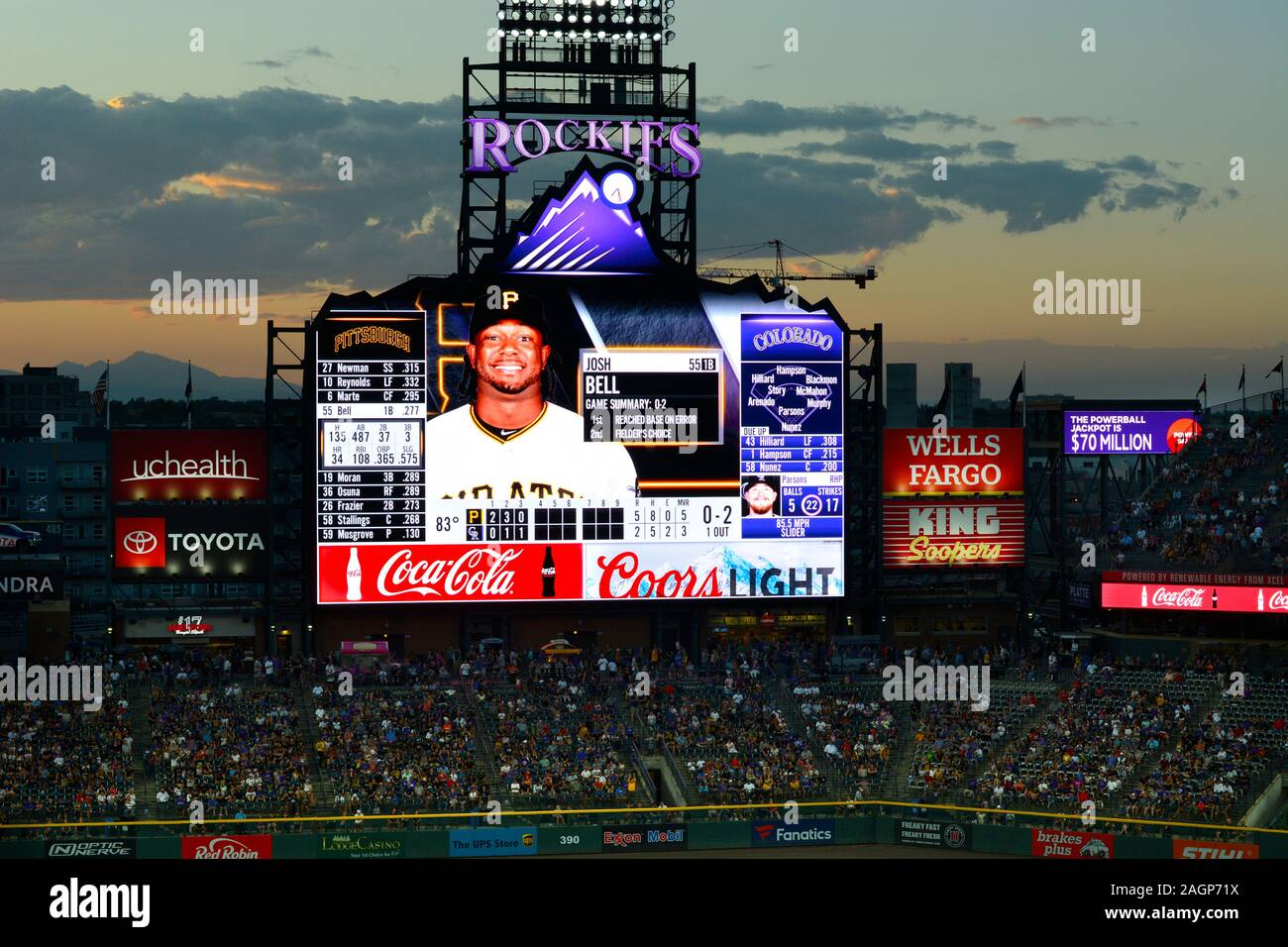Jumbotron High Resolution Stock Photography And Images Alamy