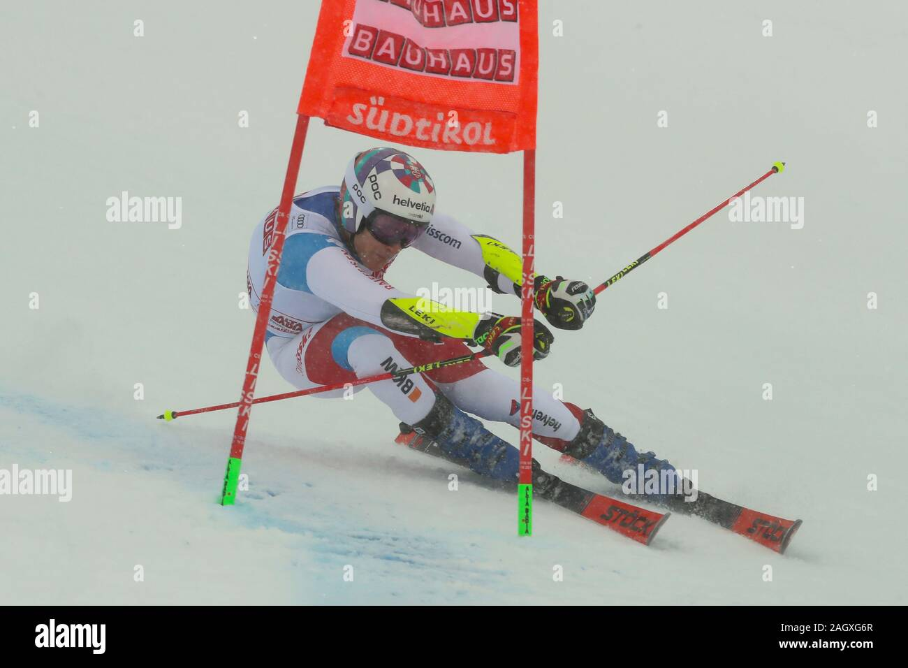 Alta Badia, Italy. 22nd Dec, 2019. Giant Slalom Men, Ski in Alta Badia, Italy, December 22 2019 Credit: Independent Photo Agency/Alamy Live News Stock Photo