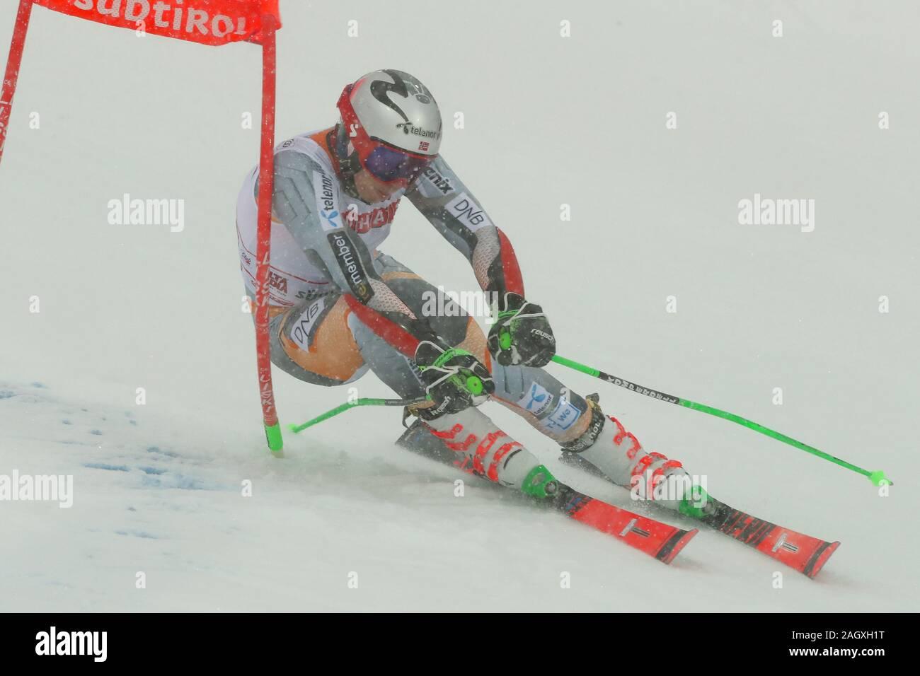 Alta Badia, Italy. 22nd Dec, 2019. kristoffersen henrik (nor) first classifiedduring FIS SKI WORLD CUP 2019 - Giant Slalom Men, Ski in Alta Badia, Italy, December 22 2019 - LPS/Sergio Bisi Credit: Sergio Bisi/LPS/ZUMA Wire/Alamy Live News Stock Photo