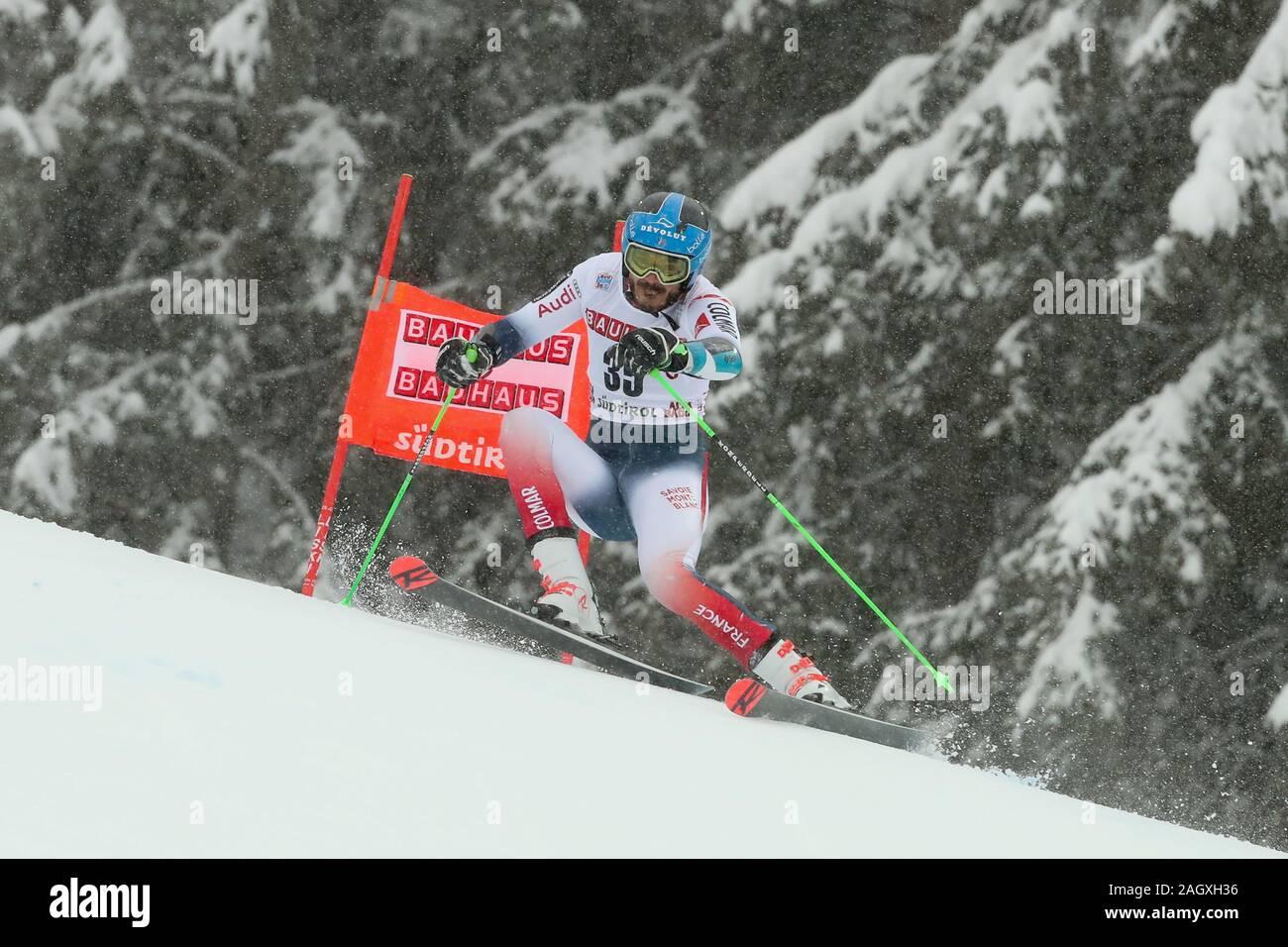 Alta Badia, Italy. 22nd Dec, 2019. sarrazin cyprien (fra) second classifiedduring FIS SKI WORLD CUP 2019 - Giant Slalom Men, Ski in Alta Badia, Italy, December 22 2019 - LPS/Sergio Bisi Credit: Sergio Bisi/LPS/ZUMA Wire/Alamy Live News Stock Photo