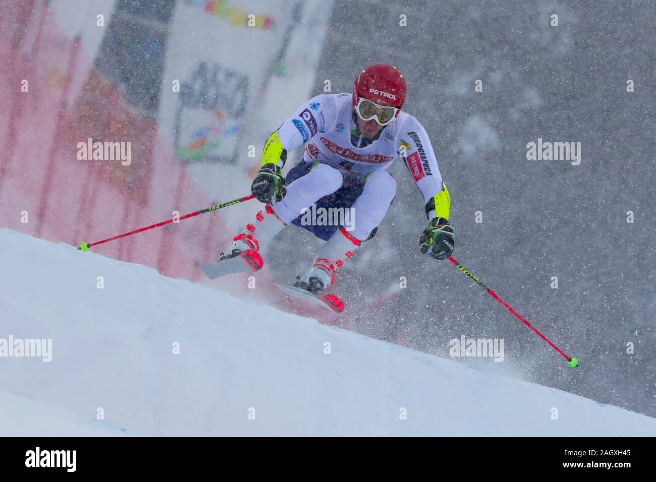 Alta Badia, Italy. 22nd Dec, 2019. kranjec zan (slo) 3rd classifiedduring FIS SKI WORLD CUP 2019 - Giant Slalom Men, Ski in Alta Badia, Italy, December 22 2019 - LPS/Sergio Bisi Credit: Sergio Bisi/LPS/ZUMA Wire/Alamy Live News Stock Photo