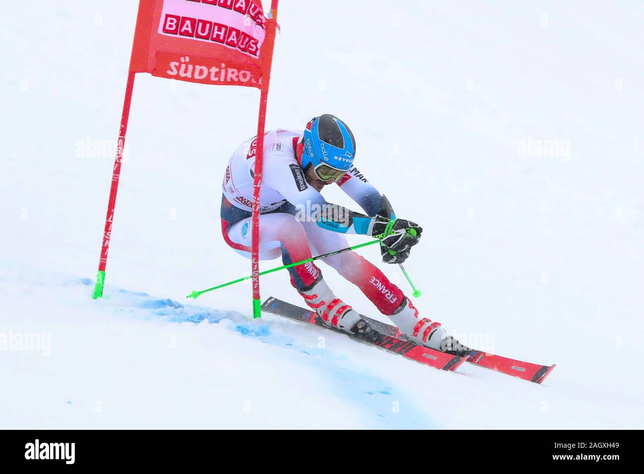 Alta Badia, Italy. 22nd Dec, 2019. sarrazin cyprien (fra) second classifiedduring FIS SKI WORLD CUP 2019 - Giant Slalom Men, Ski in Alta Badia, Italy, December 22 2019 - LPS/Sergio Bisi Credit: Sergio Bisi/LPS/ZUMA Wire/Alamy Live News Stock Photo