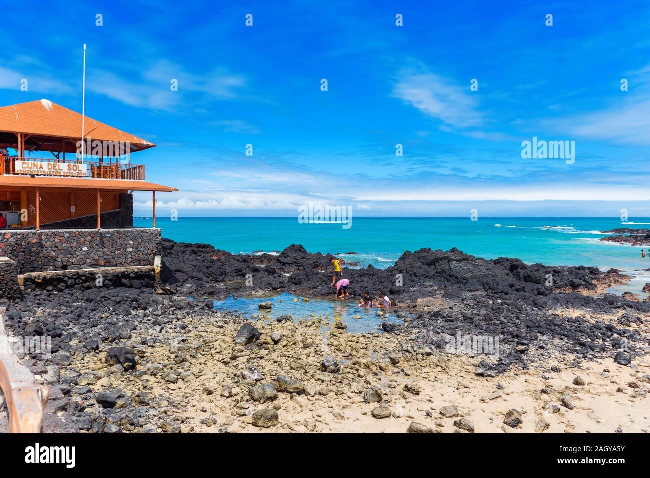 Galapagos Island Isla Isabela July 2 2019 View Of The