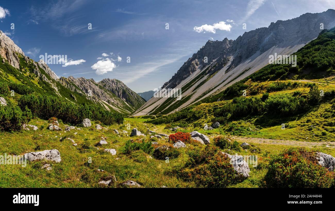 Austria, Tyrol, Hahntennjoch pass in Lechtal Alps Stock Photo